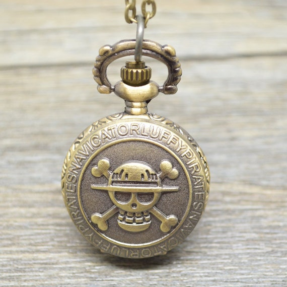 one anime pocket necklace chain by funybead