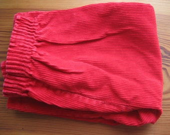 Red Corduroy Pants Baby size 12-24 months
