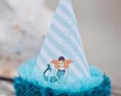 Mermaid Party Hat - Printable
