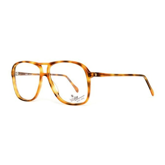 Vintage Tortoise Shell Eyeglass Frames : vintage aviator eyeglasses brown tortoise shell glasses