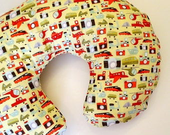 Cameras, Planes, Traines, and Automobiles Boppy Nursing Pillow Cover