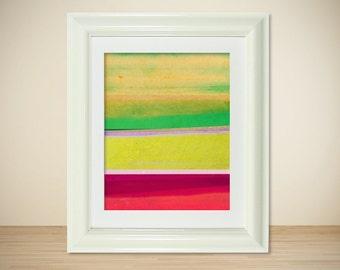 LOMO No. 12 // Abstract Print, Art Poster, Modern Landscape, Colorful Art, Mixed Media, Photography, Digital Print, Giclee, Wall Art