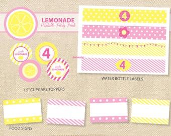 LEMONADE Printable Party Pack - DIY