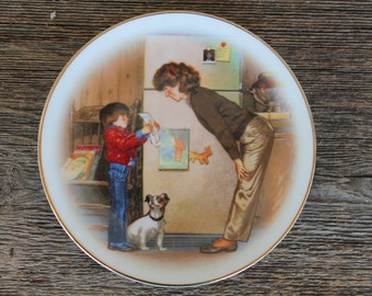 Avon Mothers's Day Collectors Plate
