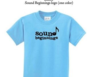 Youth Sound Beginnings standard tshirt