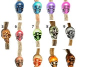 pick color: skull dread bead