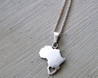 Custom country necklace - you choose the country On SALE - 8 Dollars off