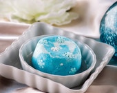Winter Peppermint Bubble Bar - Solid Bubble Bath - Free Shipping