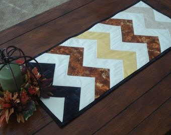 Fall or Autumn Table Runner