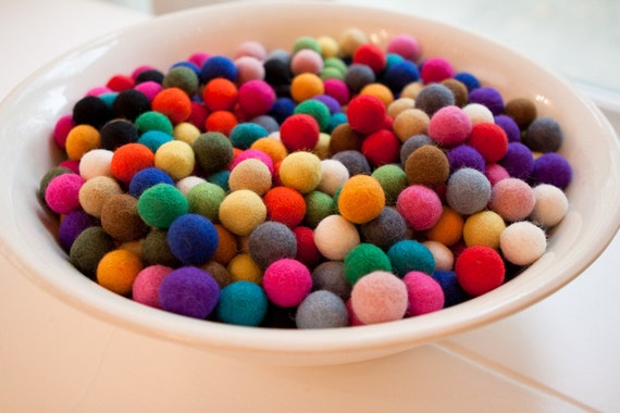 FREE GIFT Share this listing Individual Felt Balls100 count 20mm Felted balls by YUMMI Party Decorations