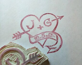 Design your own Wedding Stamp