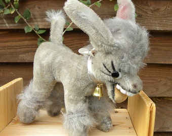 Anker Mufti - Vintage Donkey - Laughing Donkey - Teeth - 1960's Toy