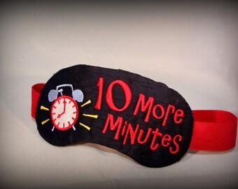 Ten More Minutes Sleep Mask