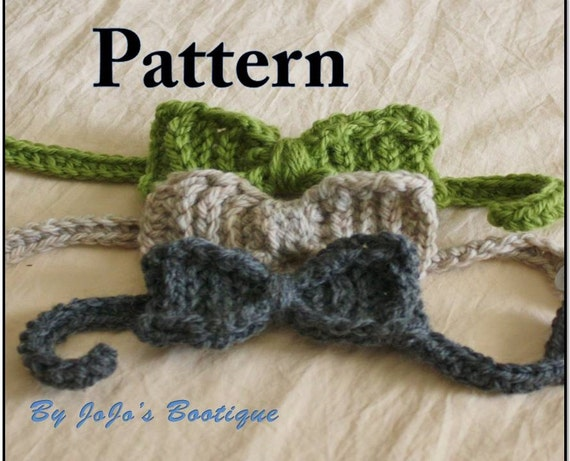 Items Similar To Pdf Bow Tie Pattern Textured Baby Bow Tie