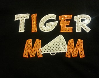 Stock****SALE**** Tiger Mom Cheer Hoodie - youth XL