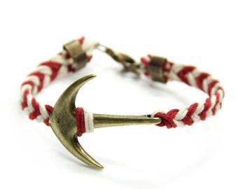 Pulseira marinheiro - Porto Bracelet - Nautical Sailing Bracelet - Bracelets Charm - Rope Bracelet - Navy