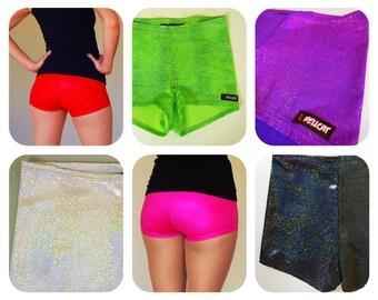 Sparkly Roller Derby Shorts - Pre-Order