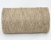 Waxed Irish Linen Thread Natural Sand 4 Ply