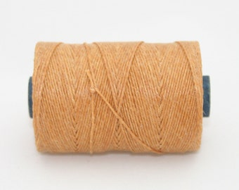 Waxed Irish Linen Thread Butterscotch 4 Ply