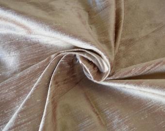 Silk Dupioni in  Maroon Ivory- Extra wide 54 inches Half Yard, DEX 218