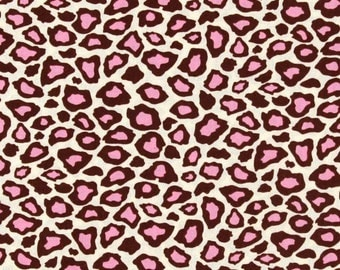 Last One -Pink &  chocolate brown Leopard Infant Car Seat Cover - Custom order