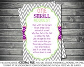 Bring a Book Insert Card - Baby Shower Insert Card Bring a Book One Last Request
