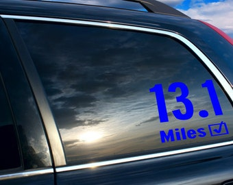 13.1 Car sticker, 13.1 car decal, 13.1
