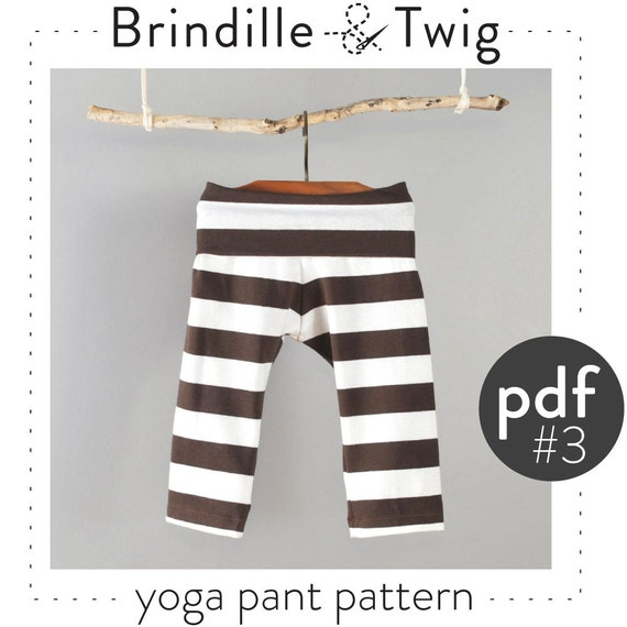 Baby Yoga Pants Pdf Pattern Photo Tutorial By Brindilleandtwig