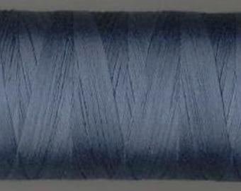 Aurifil Thread Blue Grey  50 wt. cotton Mako thread-  MK50 1126  1422 yard spool