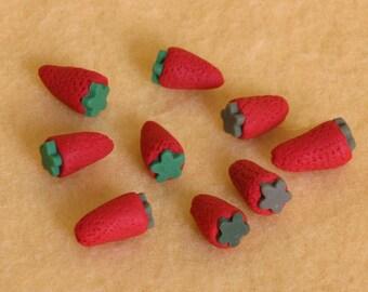 10 strawberries doll food for American Girl dolls