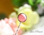 Sweet Personalized Colorful Cheerful Chupa Chups Semi Hair Bobby Pin with Silver Princess Post - Choose your color