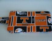 University of TN iPhone Case, Zipper pouch, Show your team colors