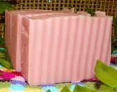 Fresh Cut  Roses Handmade Cold Process Soap with  Shea Butter and Olive Oil