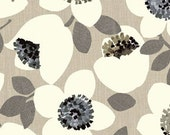 Benartex/Contempo - Cachet 3430 11 Grey Large Floral Cotton Fabric