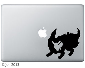 Flareon And Eevee Decal