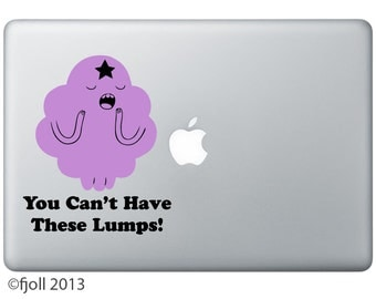 Lumpy Space Princess Can't Have These Lumps Decal Adventure Time