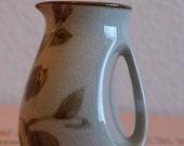 SHAREOURJOY Vintage Ceramic Harvest Pitcher or Creamer Handpainted in Sweden