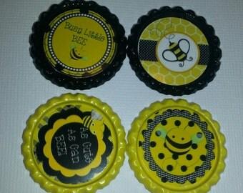 Bumblebee Bottle Caps