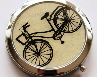 Goin' on a Bike Ride.  Compact Mirror