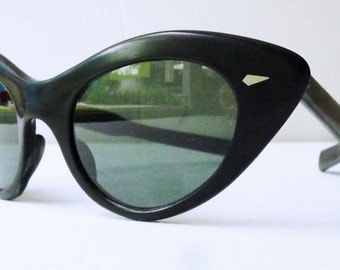 REDUCED 1950's French Cateye Sunglasses- sex kitten -Atomic-Rockabilly