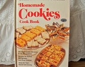 Vintage Homemade Cookies Cookbook 1977 Better Homes and Gardens Loaded with Cookie Recipes