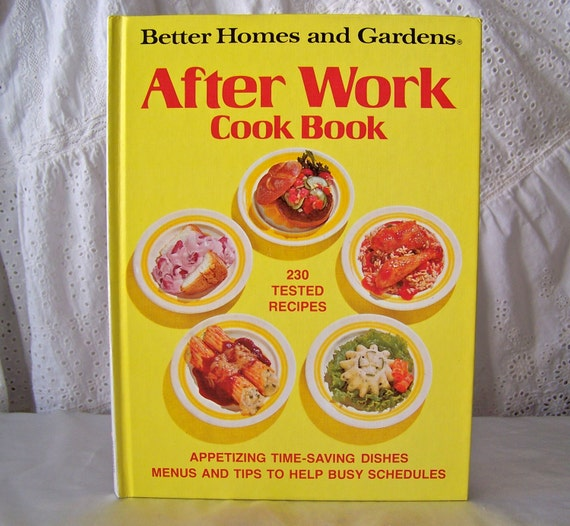 Vintage Better Homes And Gardens After Work By Cynthiasattic