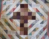 Inspirational Scripture Lap Quilt Psalm 23