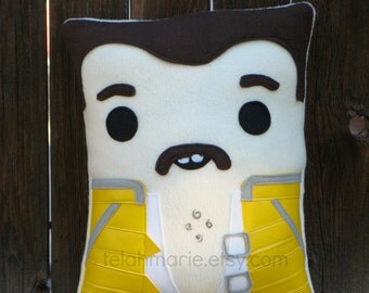Freddie Mercury Pillow, Queen plush pillow