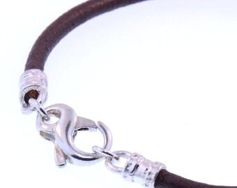 Valentine's Day Gift - Infinity Clasp Leather Bracelet
