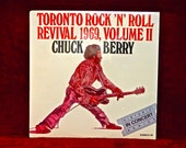 SEALED...CHuCK BERRY - Toronto Rock 'N' Roll Revival 1982, Volume Ii  - 1982 Vintage Vinyl Reco