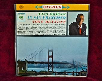 TONY BENNETT - I Left My Heart in San Francisco - 1962 Vintage Vinyl Record Album