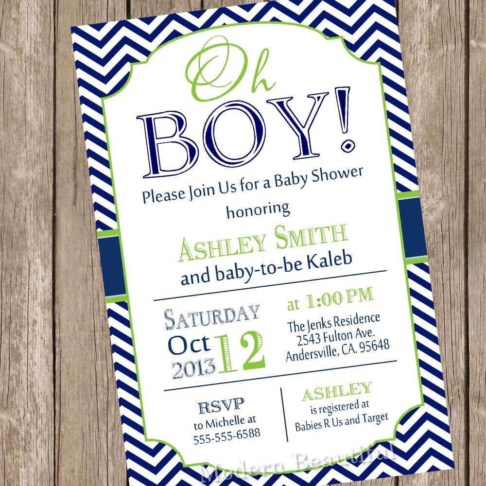 Fabulous image regarding printable baby boy shower invitations