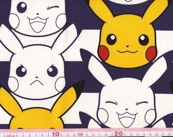 Pocket Monsters printed fabric one yard