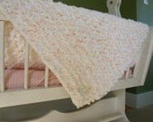 Baby Blanket Girl, Triple Knit Handmade, Super SOFT and Cozy!